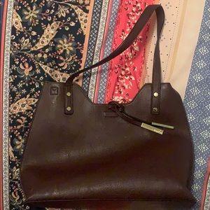 Burgundy Calvin Klein bag